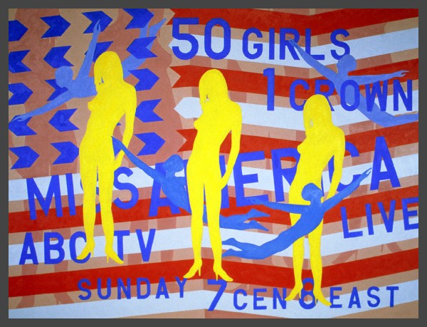 Miss America Pageant Flag #1  — $1,200 / $50 mo. lease