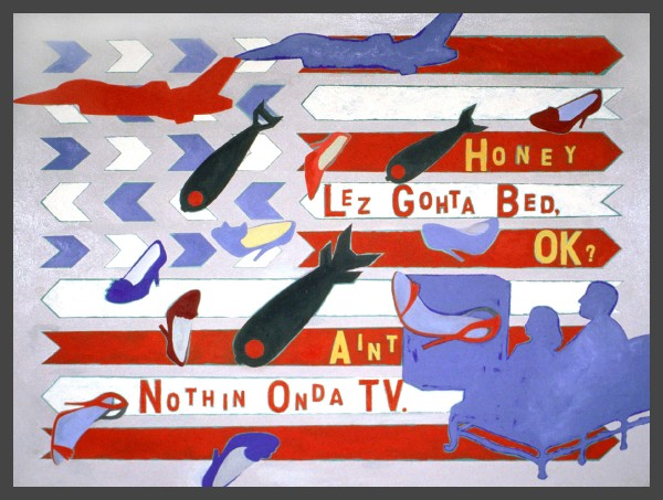 Nothin Onda TV Flag  — $1,200 / $50 mo. lease